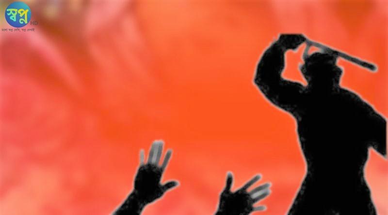 বেনাপোলে সন্ত্রাসীদের দায়ের আঘাতে