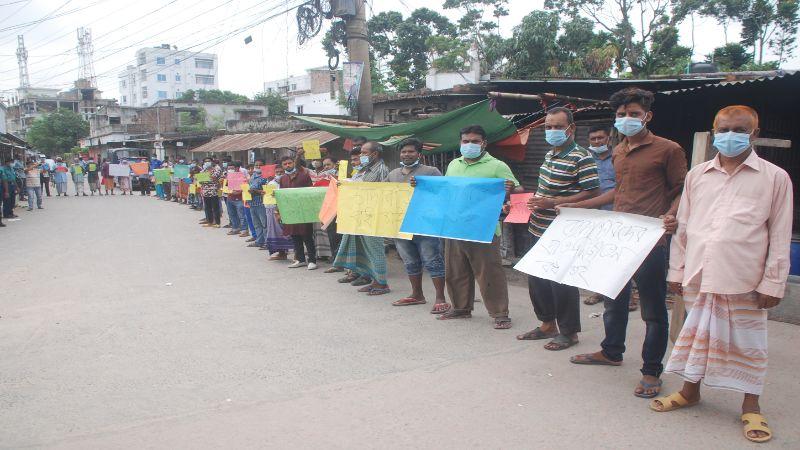 রাজশাহীতে চাঁদাবাজী সন্ত্রাসী কর্মকাণ্ডের