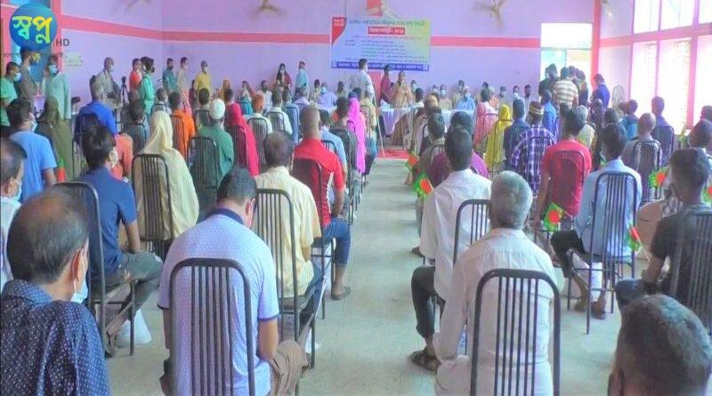 রংপুরে ক্ষতিগ্রস্ত দোকান কর্মচারী