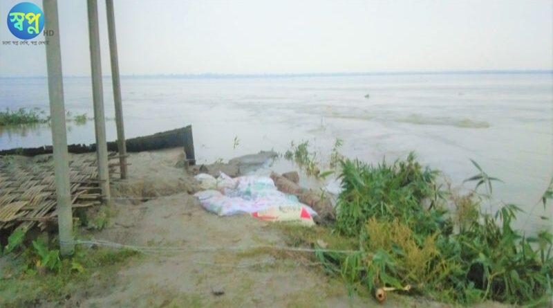 নদীর গর্ভে বিলিন মসজিদ